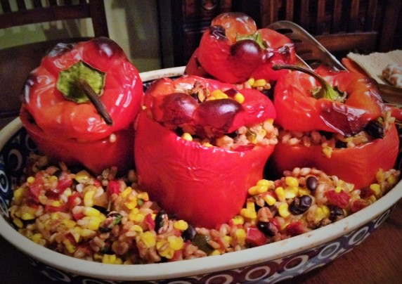 Stuffed Tex Mex Peppers
