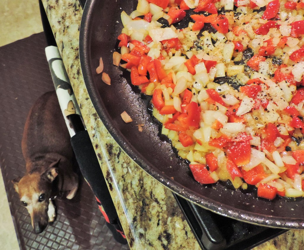 Sauteed Onions & Peppers