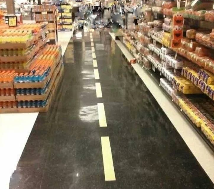 Grocery Store Lanes