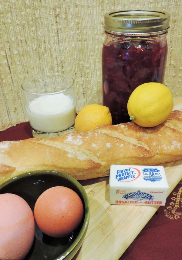 Cranberry French Toast Ingredients