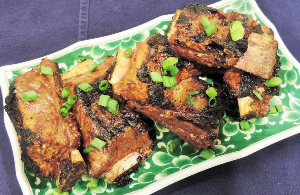 Asian Grilled Short Ribs with Scallions