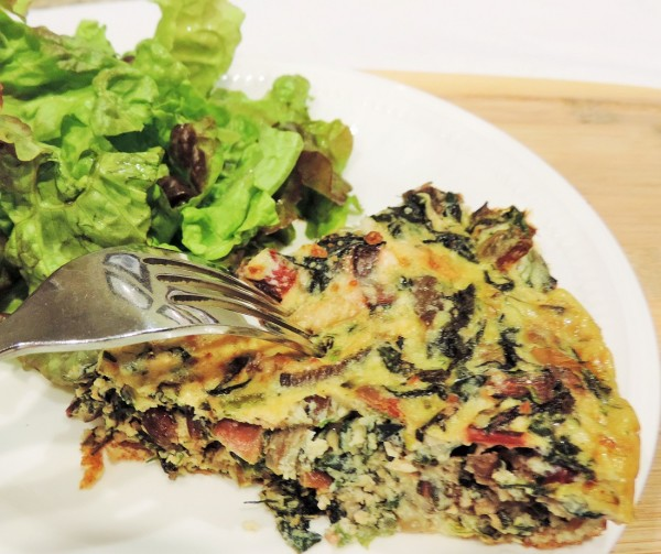 Fritatta with Greens