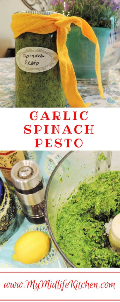Garlic Spinach Pesto