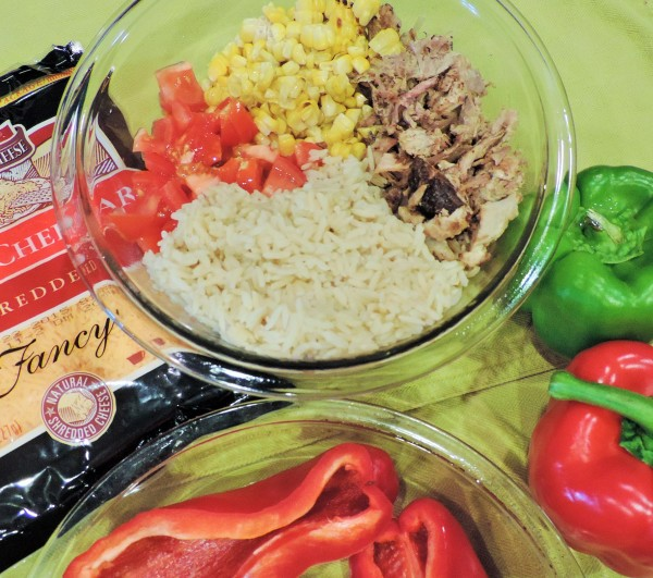 Stuffed BBQ Peppers Ingredients