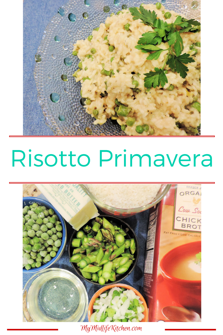 Risotto Primavera - My Midlife Kitchen