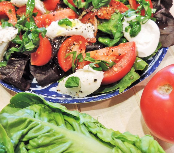 Caprese Little Gem Salad