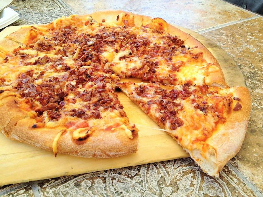 VJB-Red Rooster Bacon Pizza
