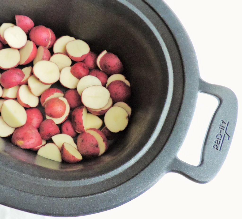 Red Potatoes in Crockpot