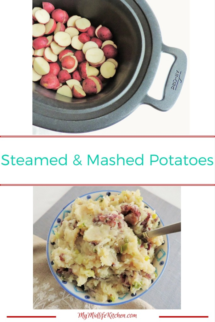 Steamed Mashed Potatoes