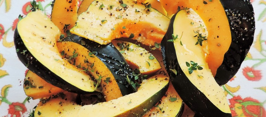 Grilled Acorn Squash–Fall in Texas