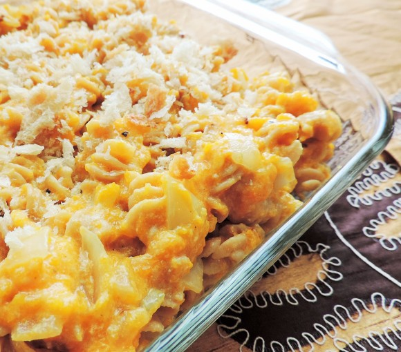 Fall Squash Mac & Cheese