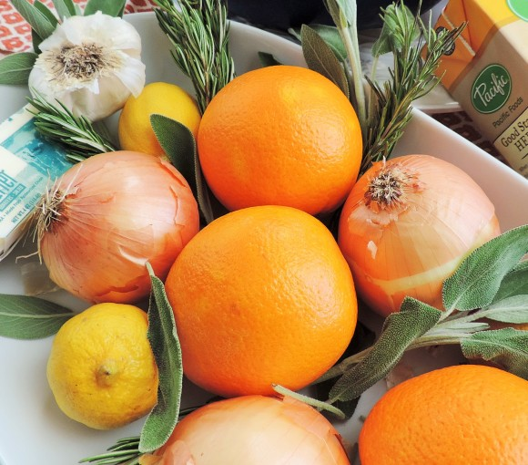 Citrus & Herbs for Turkey
