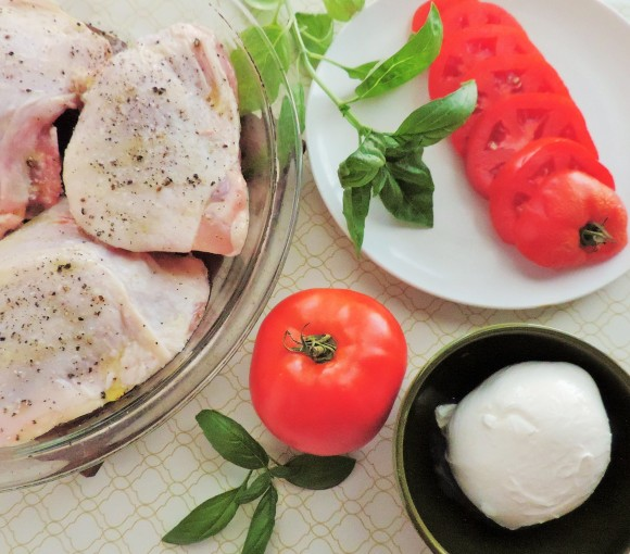 Caprese Chicken Thighs Ingredients