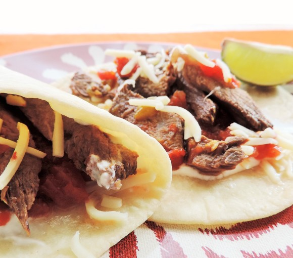 Tex Mex Crock Pot Fajitas