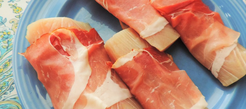 2-Ingredient Prosciutto-Wrapped Mahi Mahi