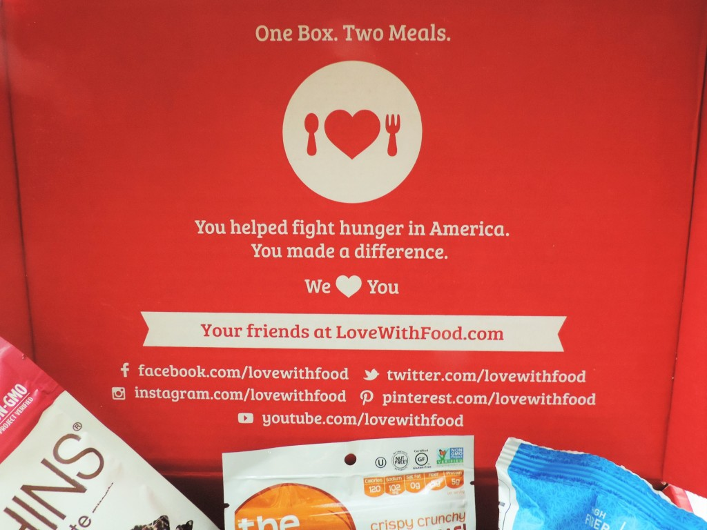 Love With Food Social Mission