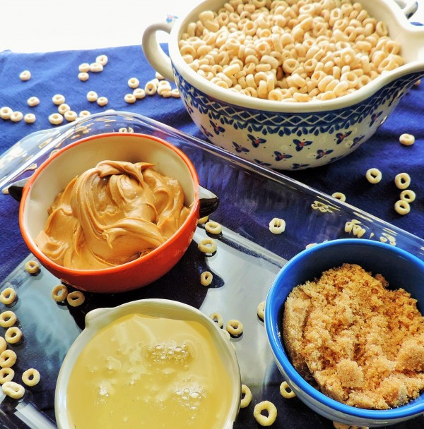 Peanut Butter Cereal Treat Ingredients