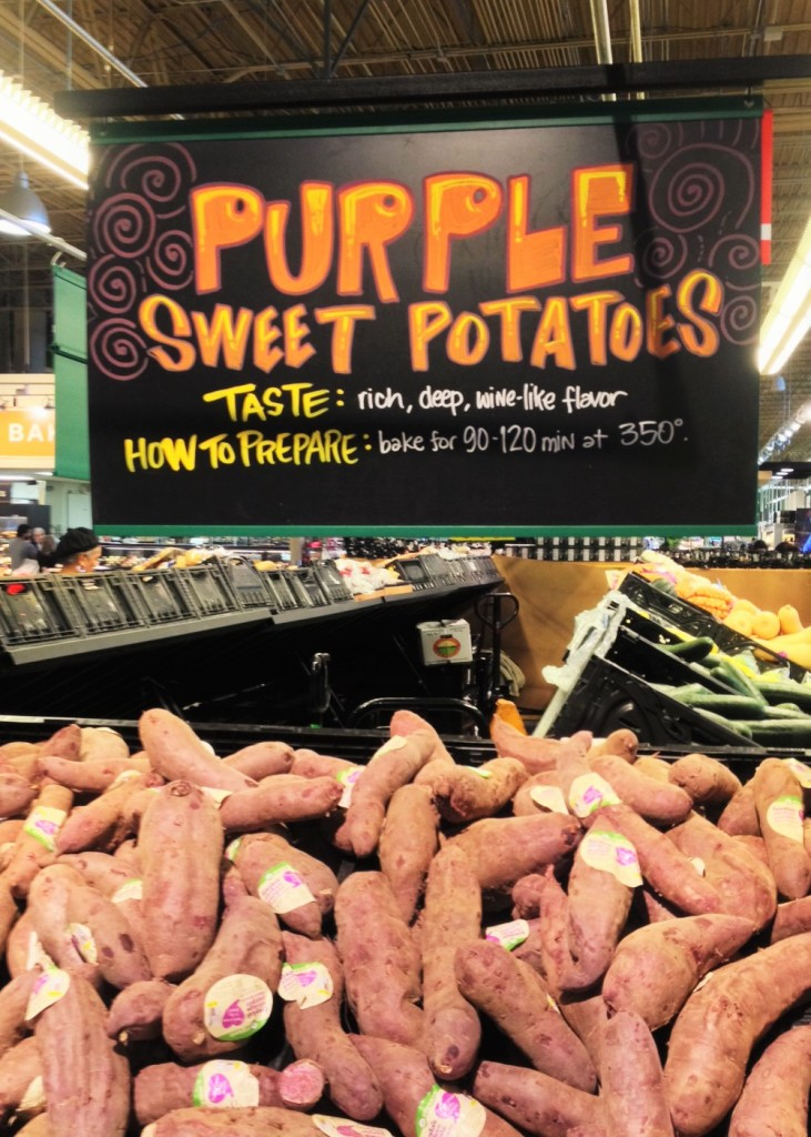 Grocery Store Purple Sweet Potatoes