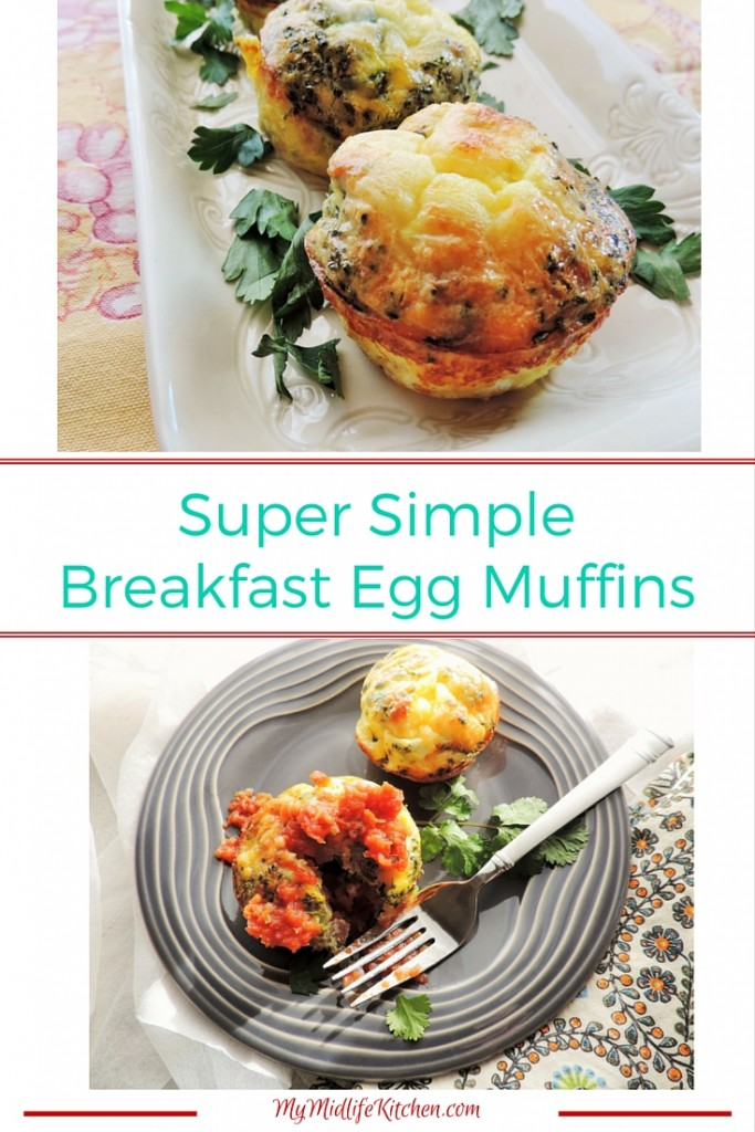 Super Simple Breakfast Egg Muffins