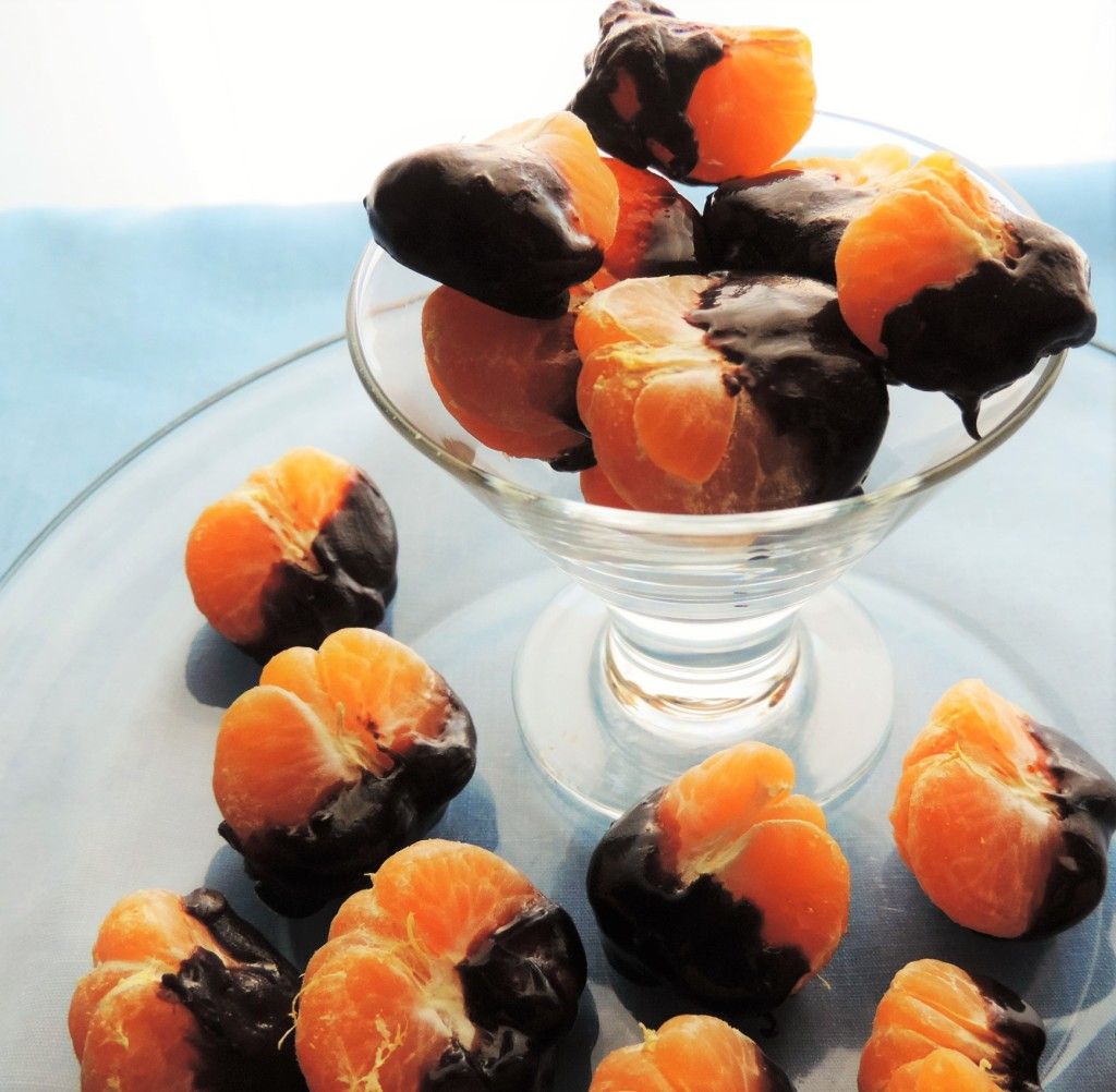 Chocolate Dipped Mandarin Oranges