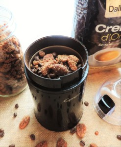 Ground Coffee with Pecans