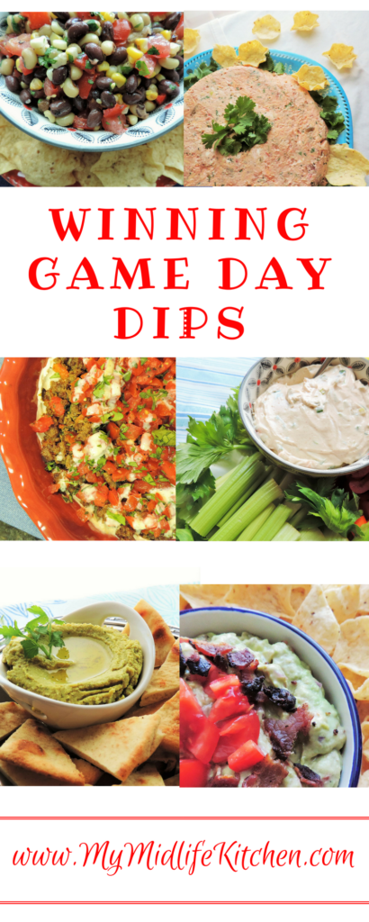 Winning Game Day Dips! The Dip Parade