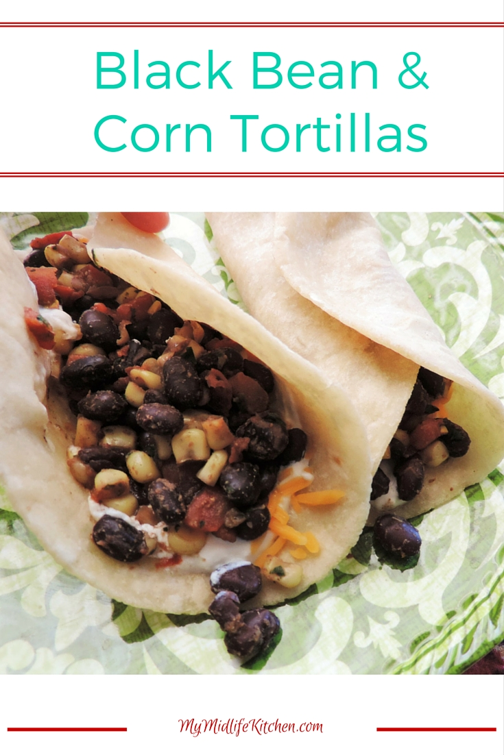 Black Bean and Corn Tortillas