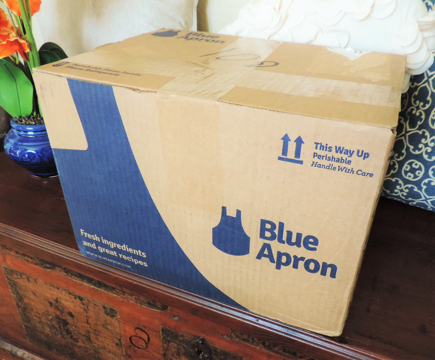Blue apron shipping