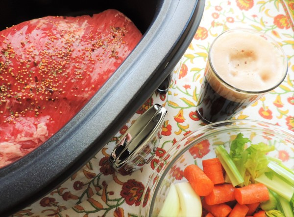 Crock Pot Corned Beef Prep