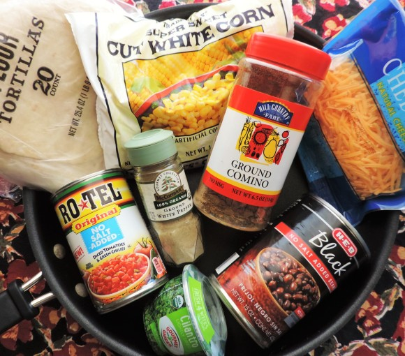 Black Bean & Corn Tortillas Ingredients