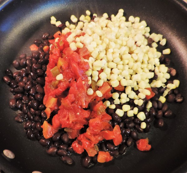 Black Beans & Veggies