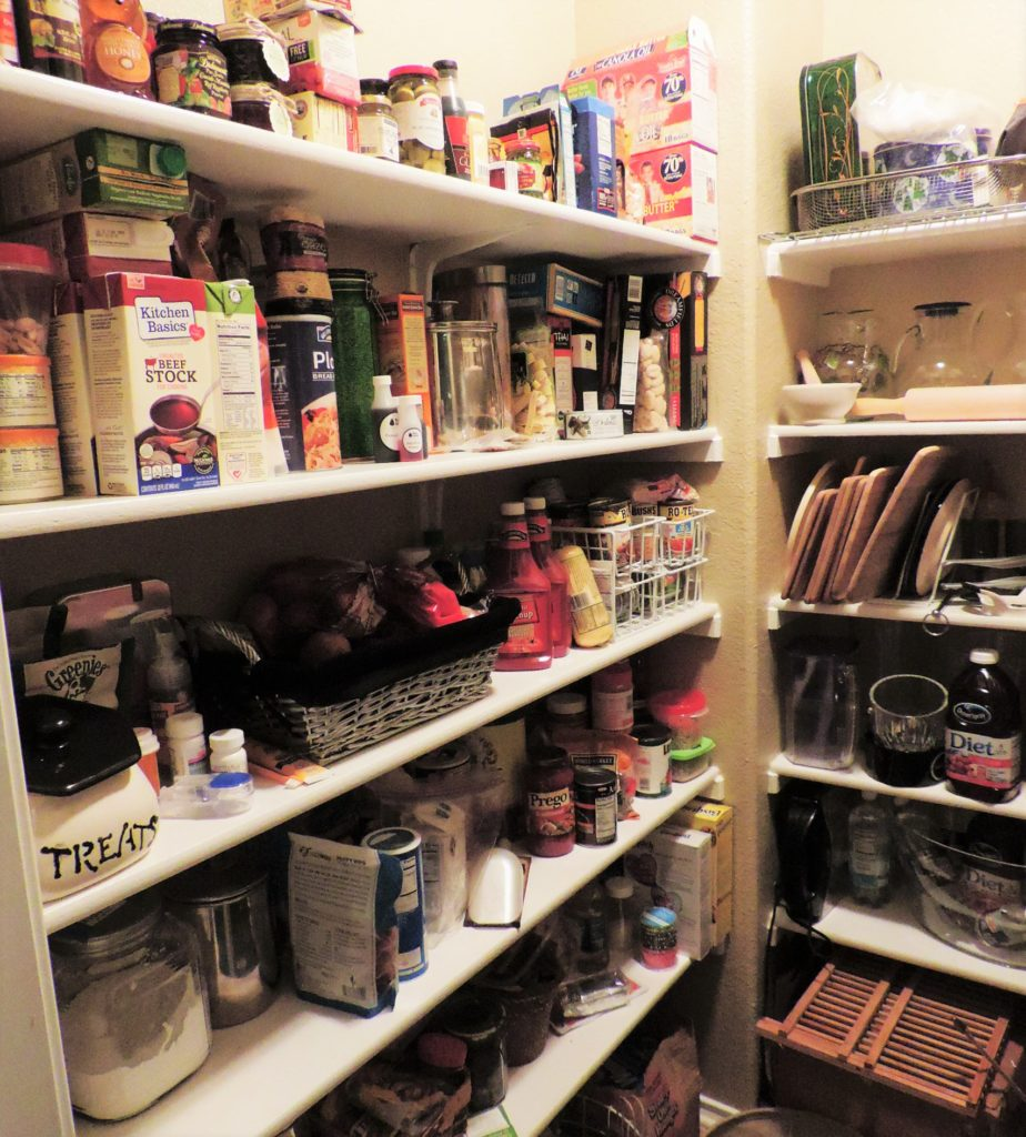 A Full PCS Pantry