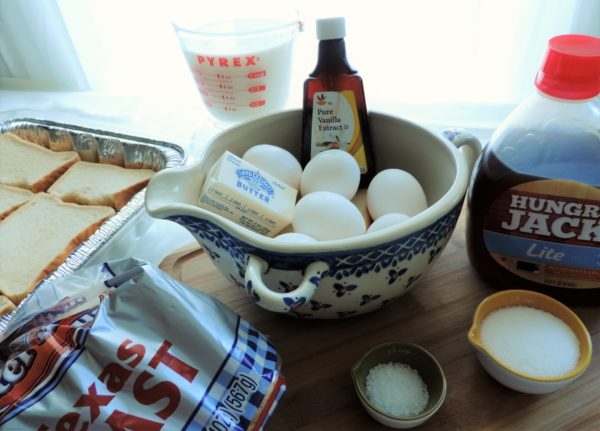 Baked French Toast Casserole Ingredients
