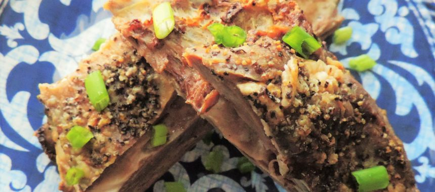 Getting Your Goat–Oven Roasted Goat Ribs