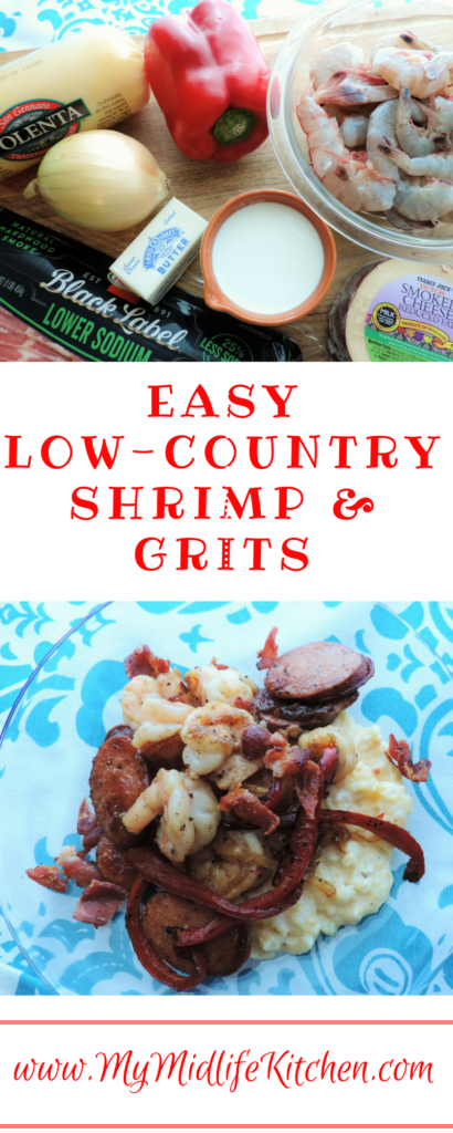 Easy Low Country Shrimp & Grits