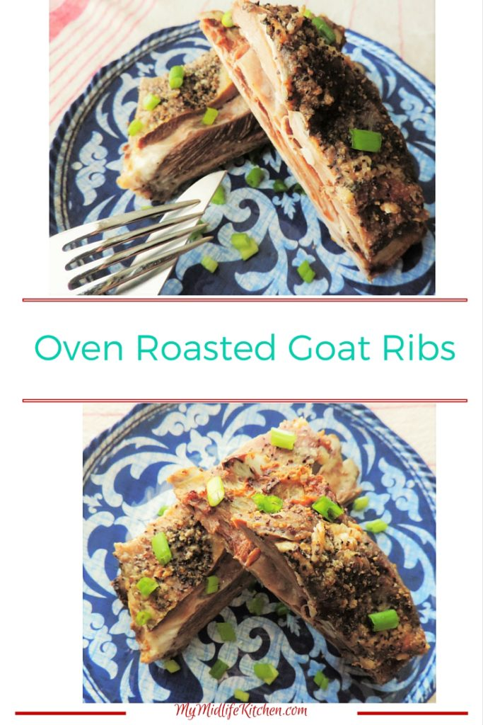 Oven Roasted Goat Ribs