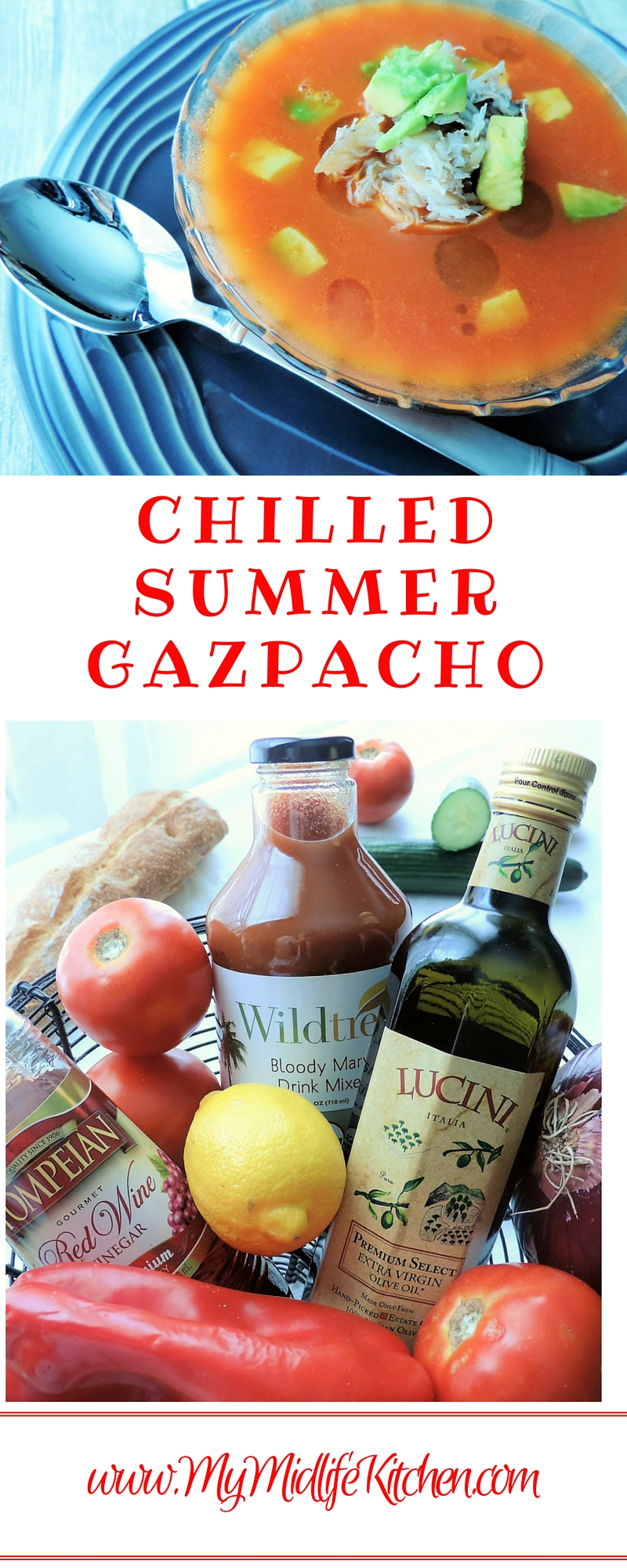Chilled Summer Gazpacho