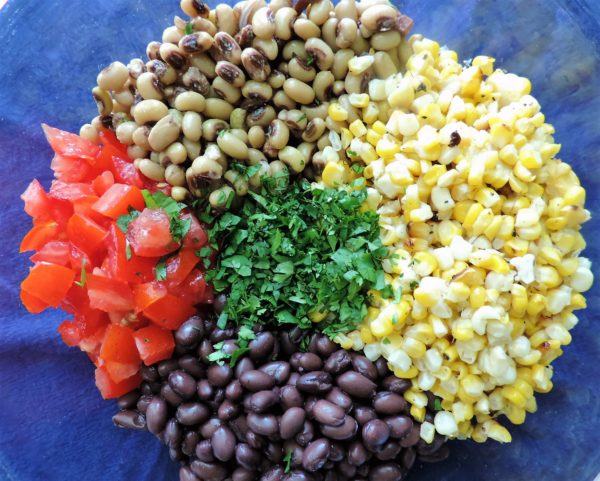 Craveable Cowboy Caviar Ingredients