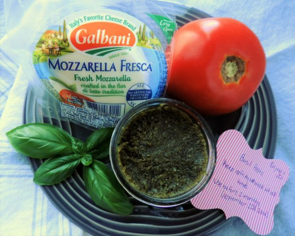 Caprese Salad Napoleon Ingredients