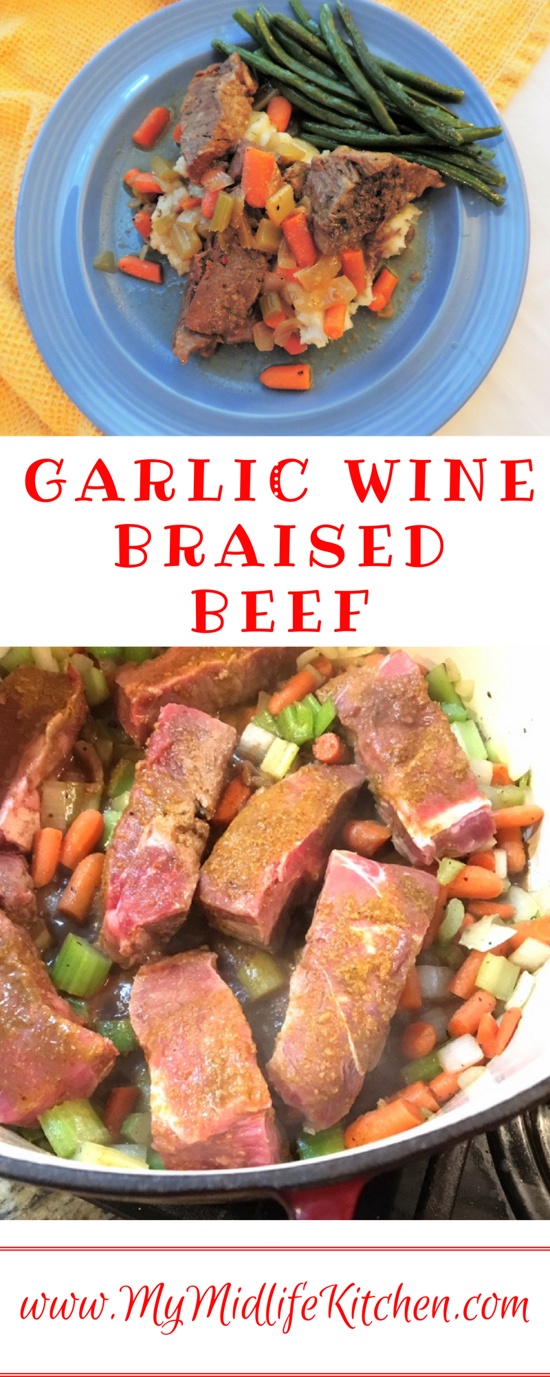 Wildtree Garlic Wine Braised Beef