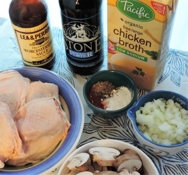 Porter Braised Chicken Thighs Ingredients
