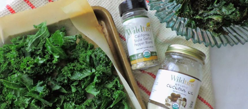 Garlic Pepper Kale Chips — Wildtree Wednesday