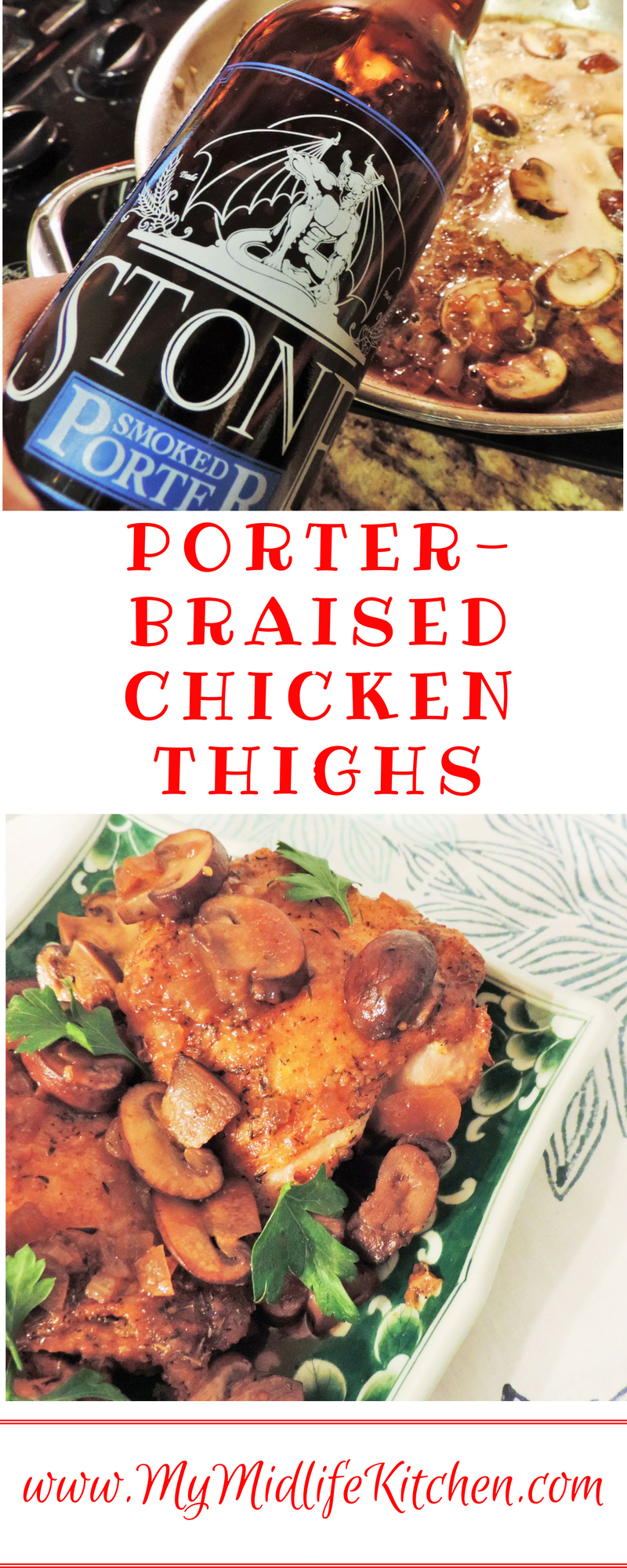 Porter Braised Chicken Thighs