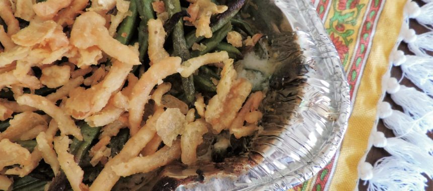 Garlic Alfredo Green Bean Casserole–Wildtree Wednesday