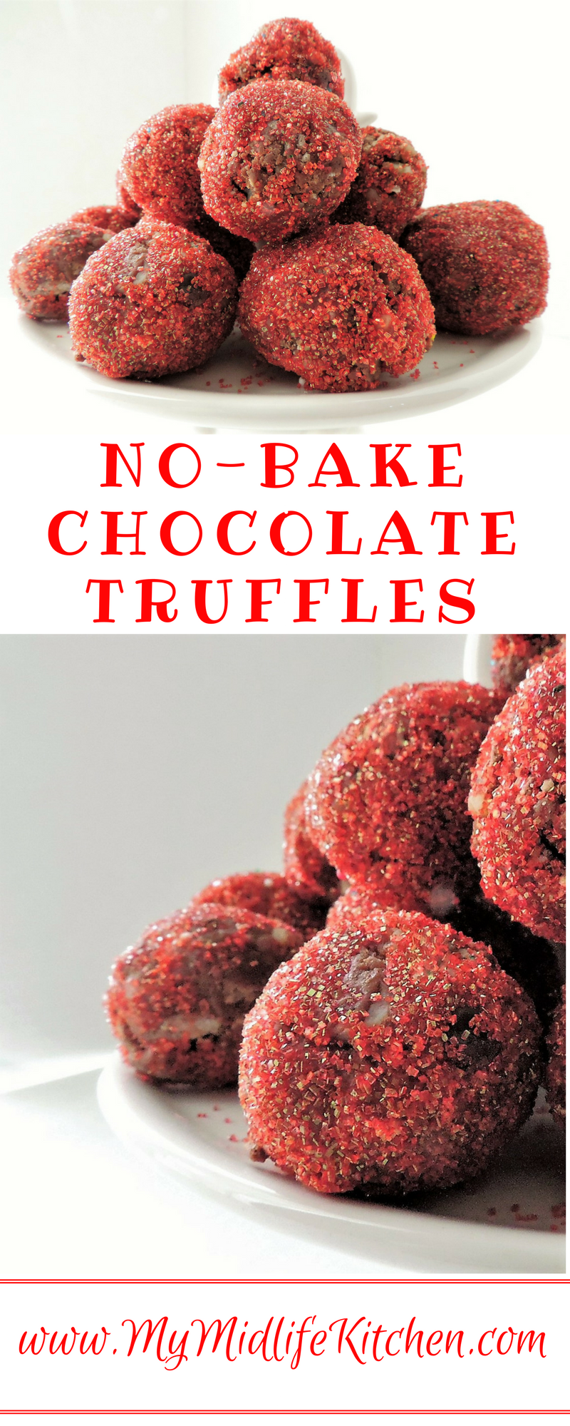 No Bake Chocolate Truffles