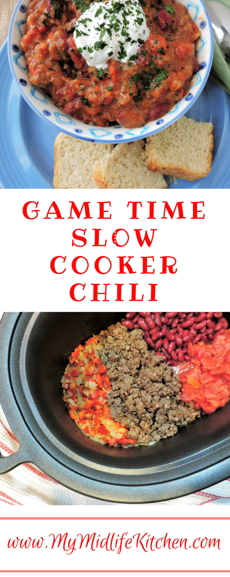 Game Time Slow Cooker Chili